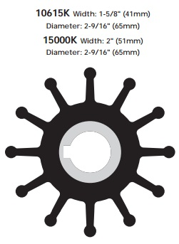 Sherwood impeller 10615K-SHW