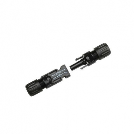 Solar connector pair MC4, 1x Male/1x Female